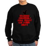 Zombies Squirrels Sweatshirt (dark)