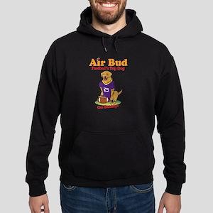 Air Bud Football Hoodie (dark)