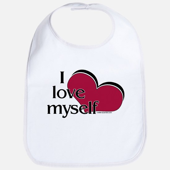 I Love Myself Bib