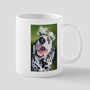 Smiling Dalmatian Dog Mug