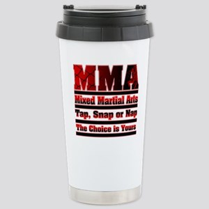 MMA Mixed Martial Arts - 3 Stainless Steel Travel