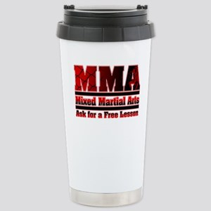 MMA Mixed Martial Arts - 2 Stainless Steel Travel