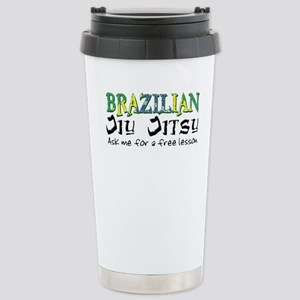 Brazilian Jiu Jitsu - Free Le Stainless Steel Trav