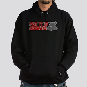 Sideways -Red/Grey Hoodie (dark)