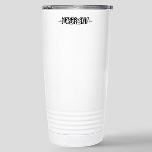 Never Tap Stainless Steel Travel Mug