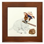 Fun JRT product, Baseball Fever Framed Tile