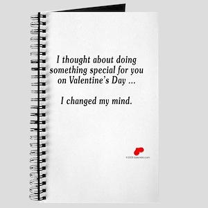 Changed my mind Journal