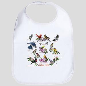 I love Birds Bib