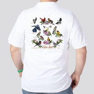 I love Birds Golf Shirt