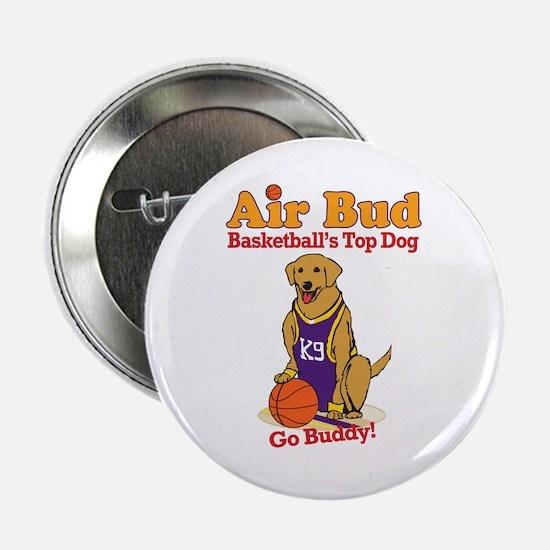 """Air Bud Basketball 2.25"""" Button"""