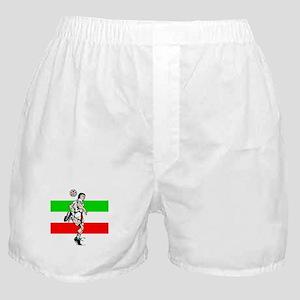 Soccer Tribble Boxer Shorts