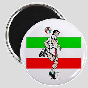 Soccer Tribble Magnet