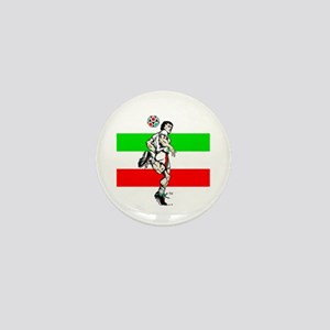 Soccer Tribble Mini Button