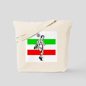 Soccer Tribble Tote Bag