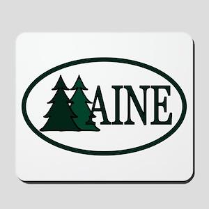 Maine Pine Trees II Mousepad