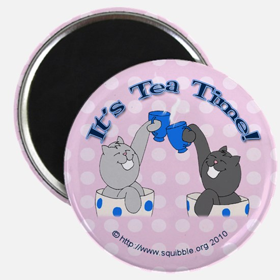 Teacup Lolcats Magnet