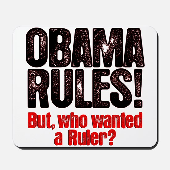 Obama Rules! Mousepad