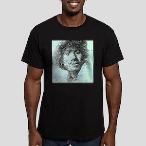 Rembrandt Men's Fitted T-Shirt (dark)