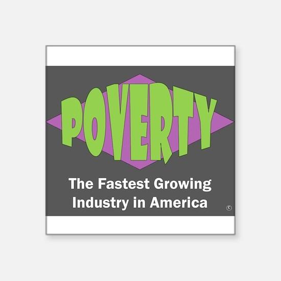 Poverty Sticker