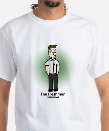 White T-Shirt : Freshman