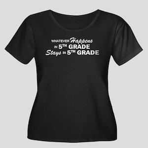 Whatever Happens - 5th Grade Women's Plus Size Sco