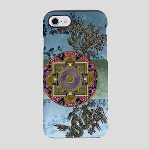 Harvest Moons Dragon Peonies iPhone 7 Tough Case