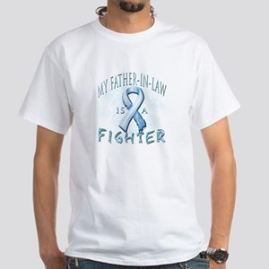 My Father-In-Law Is A Fighter White T-Shirt