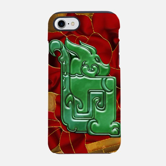 Harvest Moons Jade Dragon iPhone 7 Tough Case