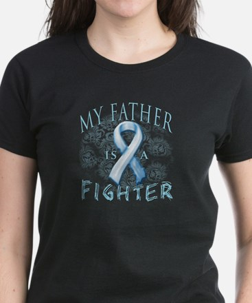 My Father Is A Fighter Women's Dark T-Shirt