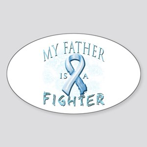 My Father Is A Fighter Sticker (Oval)