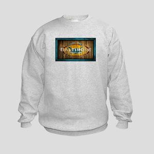 Baltimore Crab Kids Sweatshirt