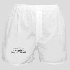 Whatever Happens -4th Grade Boxer Shorts