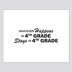 Whatever Happens -4th Grade Small Poster