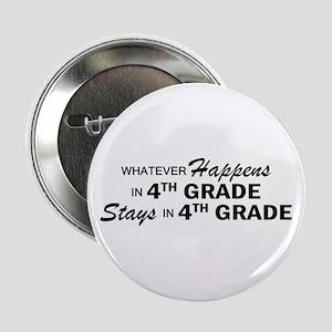 """Whatever Happens -4th Grade 2.25"""" Button"""