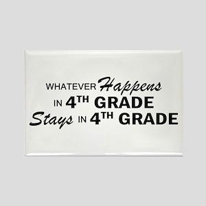Whatever Happens -4th Grade Rectangle Magnet