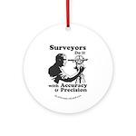 SurveyorsDoIt Ornament (Round)