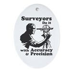 SurveyorsDoIt Ornament (Oval)
