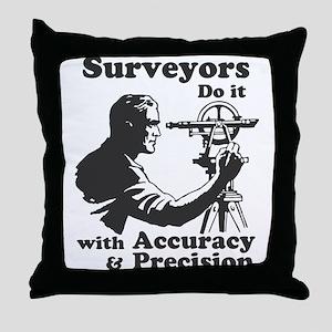 SurveyorsDoIt Throw Pillow