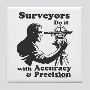 SurveyorsDoIt Tile Coaster
