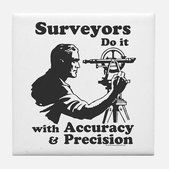 SurveyorsDoIt Tile Coaster