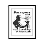 SurveyorsDoIt Framed Panel Print