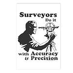 SurveyorsDoIt Postcards (Package of 8)