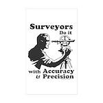 SurveyorsDoIt Sticker (Rectangle 50 pk)