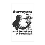 SurveyorsDoIt Sticker (Rectangle 10 pk)