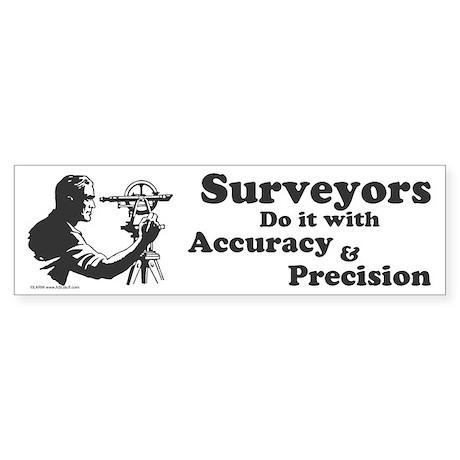 SurveyorsDoIt Sticker (Bumper)