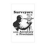 SurveyorsDoIt Sticker (Rectangle)