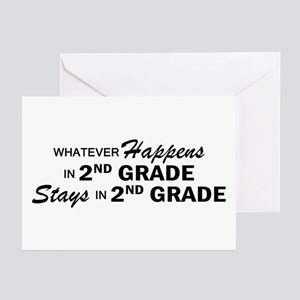 Whatever Happens - 2nd Grade Greeting Cards (Pk of