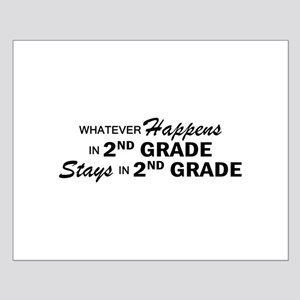 Whatever Happens - 2nd Grade Small Poster