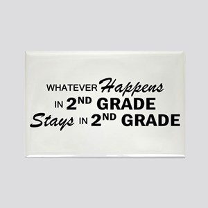 Whatever Happens - 2nd Grade Rectangle Magnet