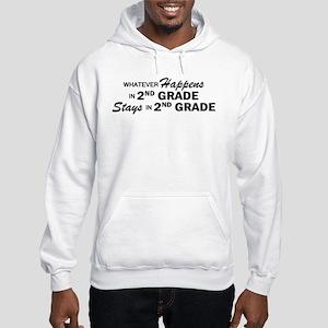 Whatever Happens - 2nd Grade Hooded Sweatshirt